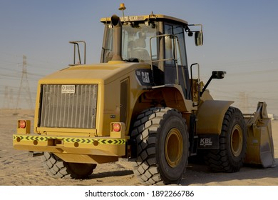 Caterpillar 950H Wheel Loader IN THE DESERT_ IN DUBAI 12-01-2021