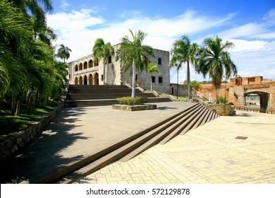 Cathedral and the Alcazar de Colon, Santo Domingo, Dominican Republic