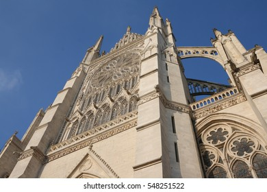 Cathedral of Amiens (Notre-Dame) in Picardie region of France