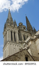 cathedral of Angers (Maine et Loire France)