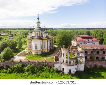 Cathedral of the Ascension of the Lord. Spaso-Sumorin Monastery. Totma. Vologda Region. Russia.
