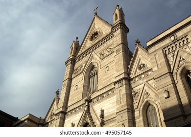 Cathedral of the Assumption of Mary, it is a Roman Catholic cathedral, the main church of Naples