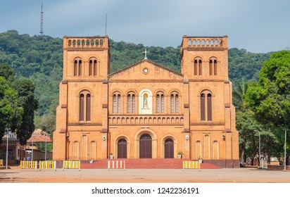 Cathedral Bangui Notre Dame, famous church in Central African Republic
