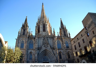 Cathedral of Barcelona, Spain
