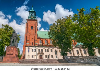 Cathedral Basilica of the Assumption of the Blessed Virgin Mary and St. Adalbert, Gniezno, Poland.