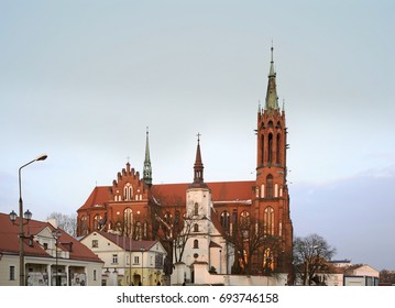 Cathedral Basilica of Assumption of Blessed Virgin Mary in Bialystok. Poland