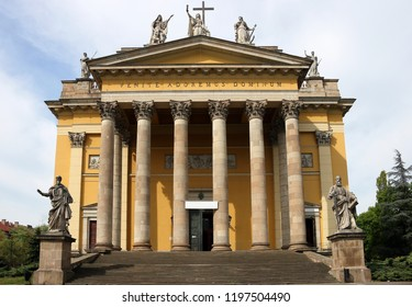 The Cathedral basilica of Eger landmark