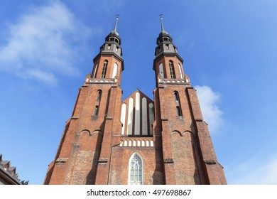 Cathedral Basilica of the Holy Cross, Opole, Poland