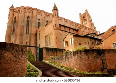 Cathedral Basilica of Saint Cecilia in Albi (Roussillon-Languedoc, France). UNESCO World Heritage Site.