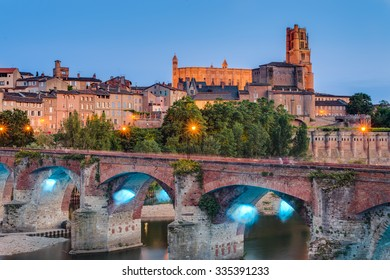 Cathedral Basilica of Saint Cecilia, claimed to be the largest brick building in the world, itâ??s located in Albi, Tarn region, Midi Pyrenees, France
