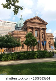 cathedral basilica of Saint Peter and Paul, Philadelphia, USA, 7 August 2018.