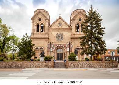 Cathedral Basilica of St. Francis of Assisi, Cathedral Place, Santa Fe, Nowy Meksyk