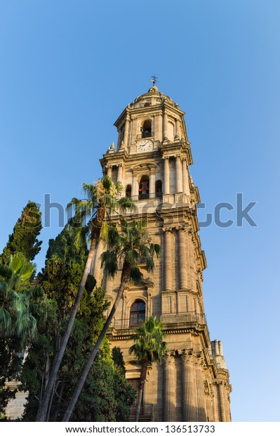Cathedral of M�¡laga, bell tower