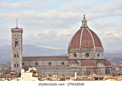 The cathedral of Brunelleschi in Florence, Italy.