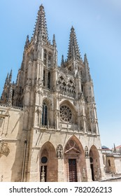 The cathedral of Burgos, one of the most majestic gothic cathedrals in Spain