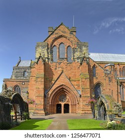 Cathedral of Carlisle. Carlisle is a city and the county town of Cumbria, England, UK