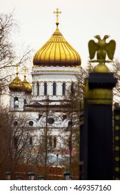 Cathedral of Christ the Savior (view from Manezhnaya Square)