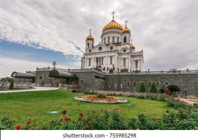 Cathedral of Christ the Saviour in Moskow