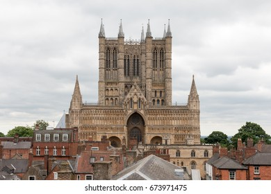 Cathedral Church of the Blessed Virgin Mary of Lincoln, commonly known as Lincoln Cathedral.