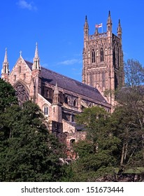 Cathedral Church of Christ and the Blessed Virgin Mary, Worcester, Worcestershire, England, UK, Western Europe.