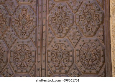 Cathedral Church Entrance; Astorga; Spain