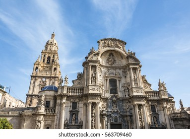 Cathedral Church of Saint Mary in Murcia, Spain.