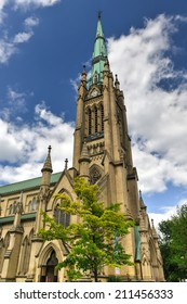 Cathedral Church of St. James in Toronto, Ontario, Canada. The home of the oldest congregation in the city.
