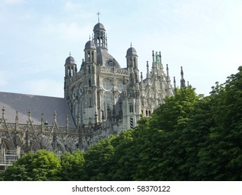 the cathedral church of St John in s-Hertogenbosch in the Netherlands