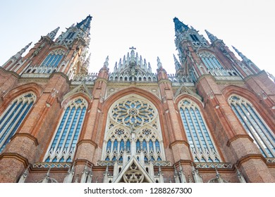 Cathedral in the city of La Plata, Buenos Aires, Argentina