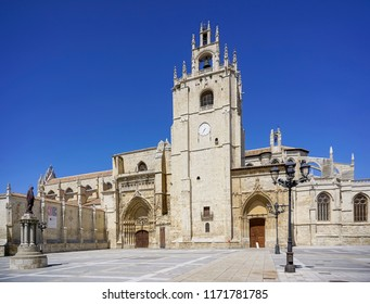Cathedral of the city of Palencia in Spain