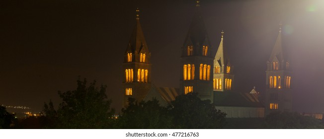 Cathedral of the city of Pecs, Hungary