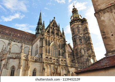Cathedral in city of Košice, Slovakia, Europe