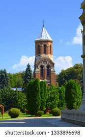 Cathedral of Curtea de Argeș (early 16th century) is a Romanian Orthodox cathedral in Curtea de Argeș, Romania. It is located on the grounds of the Curtea de Argeș Monastery
