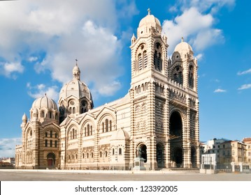 Cathedral de la Major - one of the main churches and local landmark in Marseille, France