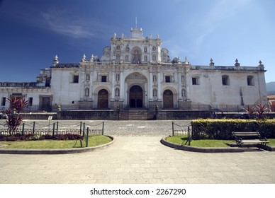 cathedral de san jose antigua guatemala central america