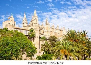 Cathedral Basílica de Santa María de Mallorca, Spain