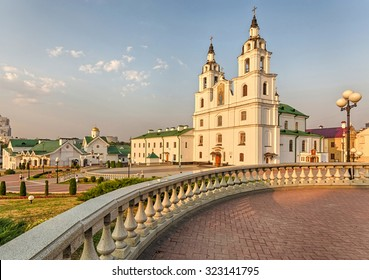 Cathedral of the Descent of the Holy Spirit, Minsk, Belarus.