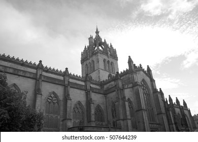 Cathedral in Edinburgh, Scotland