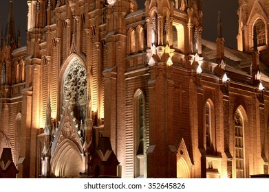 The cathedral in the evening