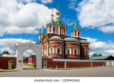 Cathedral of the Exaltation of the Holy Cross, built in the years 1852-1855, Uspensky Brusenskiy womens convent