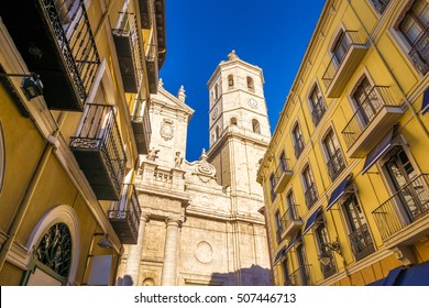 The Cathedral fo the city of Valladolid, Spain. It is located downtown, and it one of the touristic attractions of the city.