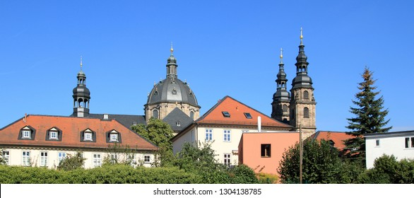 Cathedral in Fulda from the south side
