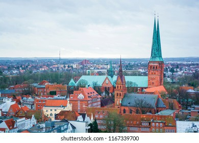 Lübeck Cathedral in Lübeck (Germany)