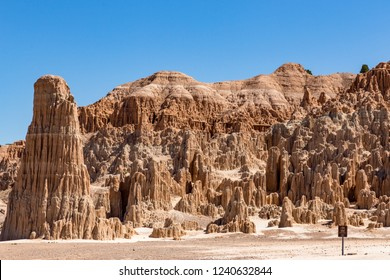 Cathedral Gorge State Park is located in a long, narrow valley in southeastern Nevada, where erosion has carved dramatic and unique patterns in the soft bentonite clay.