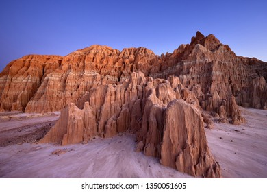 Cathedral Gorge State Park at Sunrise, Nevada