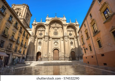 Cathedral of Granada in Andalusia, Spain