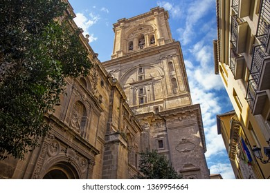 Cathedral of Granada or the Cathedral of the Incarnation, a Roman Catholic church in the city of Granada, Spain