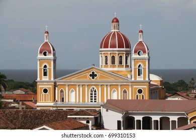 Cathedral in Granada, Nicaragua.