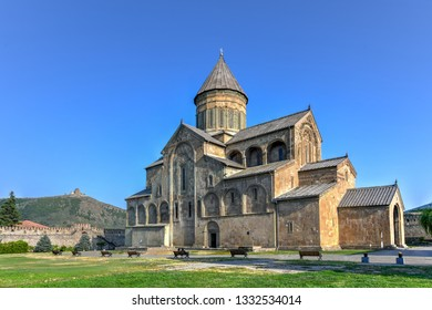 TheSvetitskhoveli Cathedral is anEastern Orthodoxcathedrallocated in the historic town ofMtskheta,Georgia, to the northwest of the Georgian capitalTbilisi.