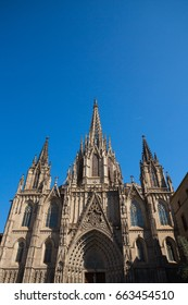 The Cathedral of the Holy Cross and Saint Eulalia, also known as Barcelona Cathedral, is the Gothic cathedral and seat of the Archbishop of Barcelona, Spain.